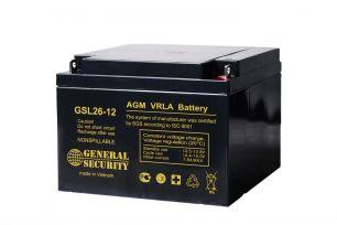 Аккумулятор General Security GSL26-12