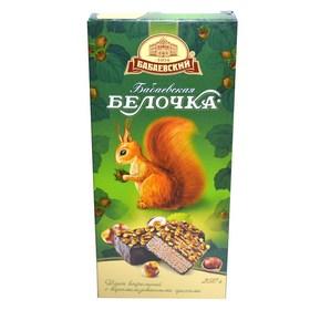 Торт вафельный БЕЛОЧКА 250гр с орехами