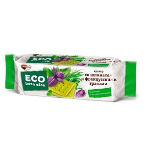 Крекер ECO BOTANICA 200гр Шпинат/французские травы