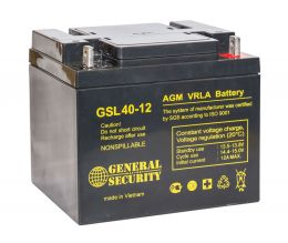 Аккумулятор General Security GSL40-12