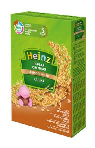 Первая овсяная каша без молока Heinz 250 г, с 5 месяцев