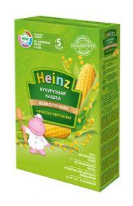 Каша Heinz без молока низкоаллергенная кукурузная с 5-ти месяцев, 200г