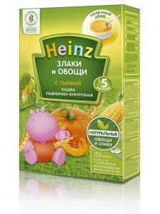 Kaşa Heinz südsüz qarğıdalı-buödalı balqabaqnan 200 qr ( 5 aydan yuxarı)
