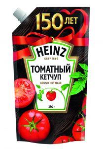 Кетчуп Heinz томатный с дозатором 350г