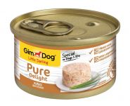GimDog Pure Delight консервы для собак из цыпленка 85 г