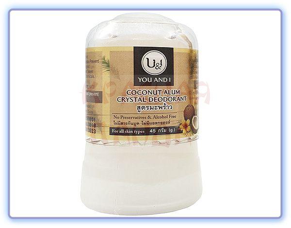 Дезодорант U&I кристаллический кокосовый
