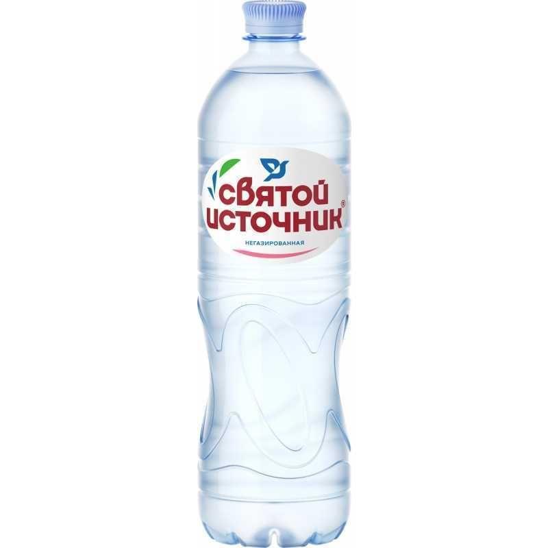 Питьевая вода СВЯТОЙ ИСТОЧНИК негазированная, 1,5л