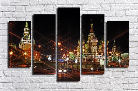Модульная картина город 8