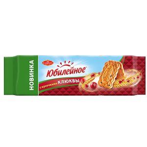 Печенье ЮБИЛЕЙНОЕ Витаминизированное со вкусом клюквы 112г