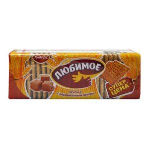 Печенье ЛЮБИМОЕ С карамельным вкусом Рот Фронт 347г