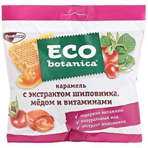 Карамель ECO BOTANICA Шиповник/медля витамины Рот Фронт 150г