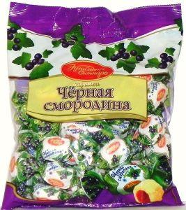 Карамель ЧЕРНАЯ СМОРОДИНА Красный Октябрь 250г