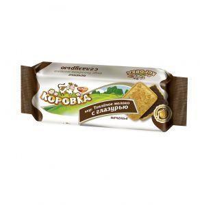 Печенье КОРОВКА топленое молоко с глазурью Рот Фронт 115г