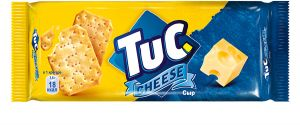 Крекер TUC с сыром 100г
