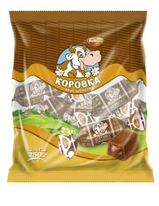 Конфеты КОРОВКА шоколад Рот Фронт 250г