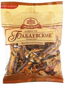 Конфеты БАБАЕВСКИЕ Оригинальные фундук/какао 200г