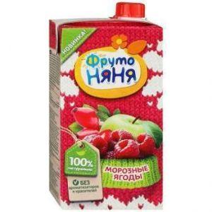 ДП Нектар ФРУТОНЯНЯ 500мл Морозные ягоды яблоко/малина/шиповник с 5 мес т/п
