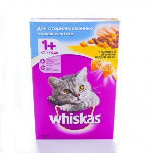 Корм для стер кошек WHISKAS 350г подля курица