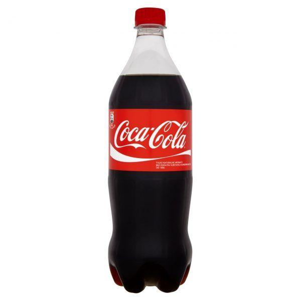 Газированный напиток COCA-COLA, 1,5л