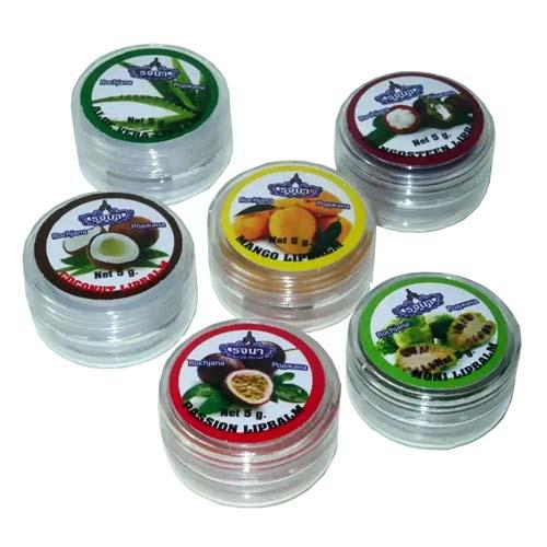 Блеск для губ тайский фруктовый - набор из 6 вкусов