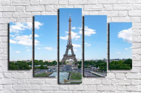 Модульная картина город 29