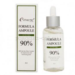 [ESTHETIC HOUSE] Сыворотка для лица с чайным деревом FORMULA AMPOULE AC TEA TREE, 80 мл