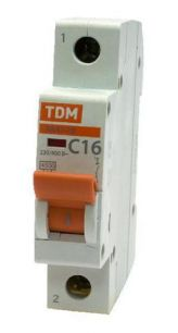 Авт.выкл. ВА47-29 1Р 10А 4,5ка х-ка С TDM 1692