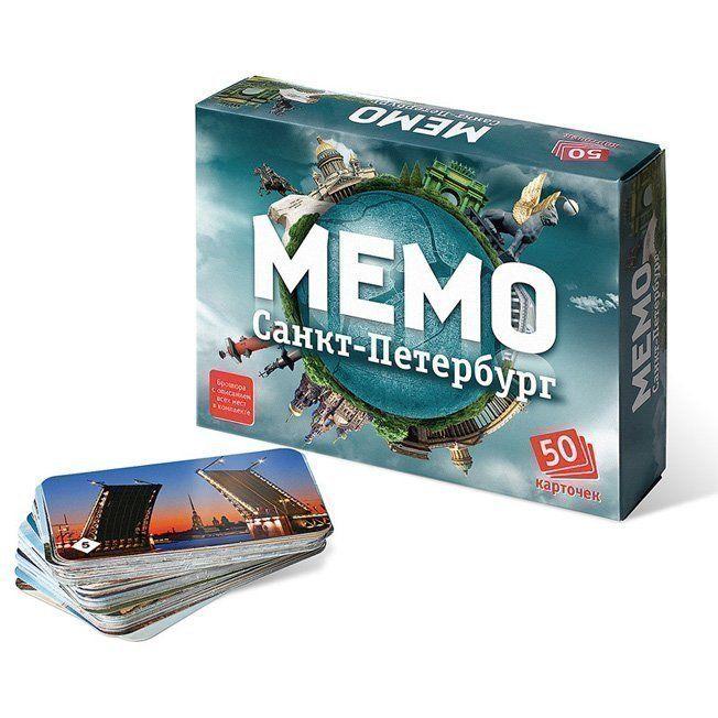 Игра Мемо Санкт-Петербург 7201