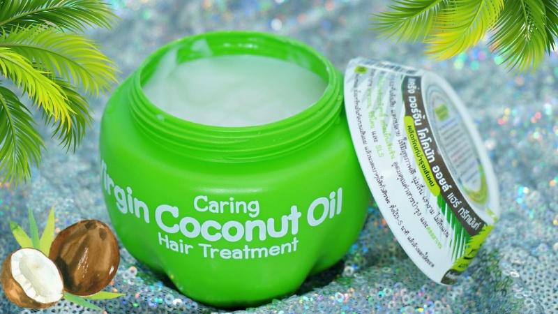 Кокосовая маска для волос Caring Hair Treatment без сульфатов