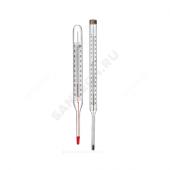 Термометр керосиновый ТТЖ-М 200С прямой 240 Стеклоприбор 100251