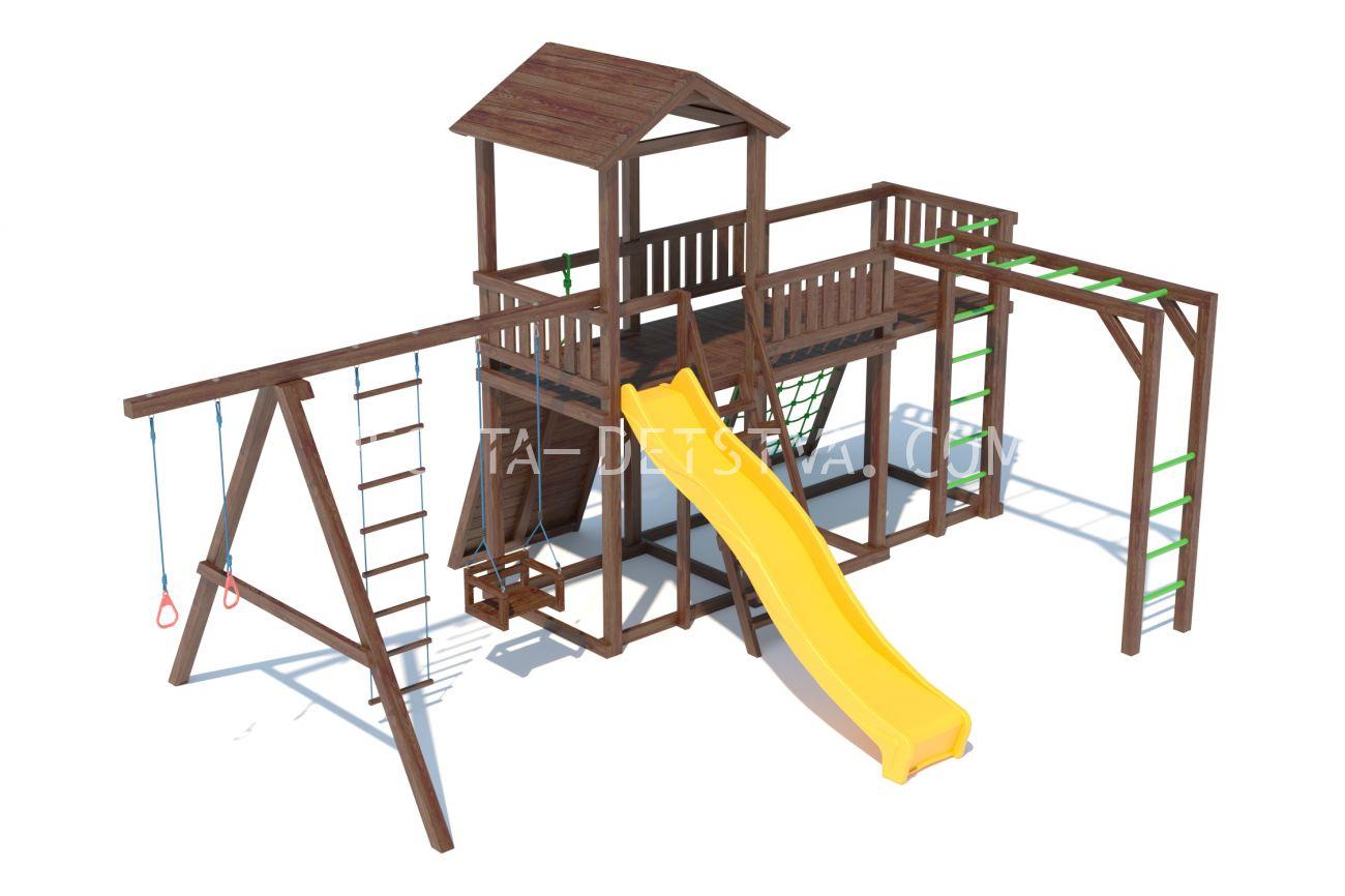 Детский игровой комплекс C 1.1