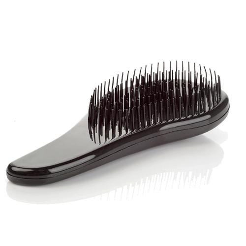Щётка для распутывания волос Detangler, 18.5 см. Цвет: черный.