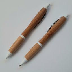ручки из бамбука с логотипом