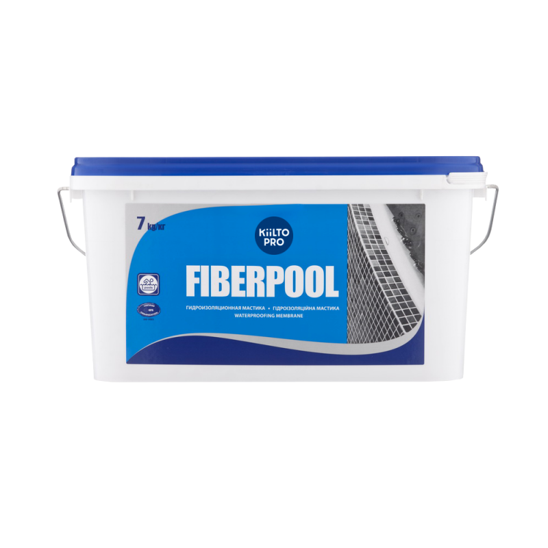 ''KIILTO FIBERPOOL'' гидроизоляционная мастика 1,3 кг