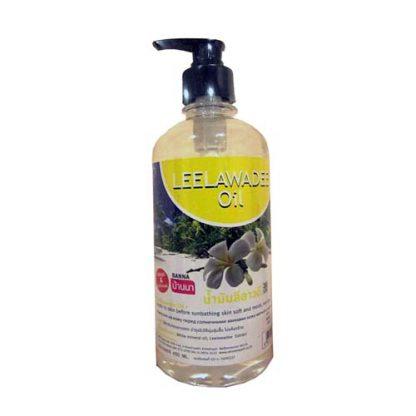 Массажное масло для тела с афродизиаками франжипани Banna 450 мл