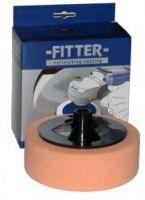 Fitter Универсальный полировальник поролоновый на винте №2 оранжевый, 150 мм