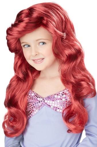 Детский парик русалочки Ариэль