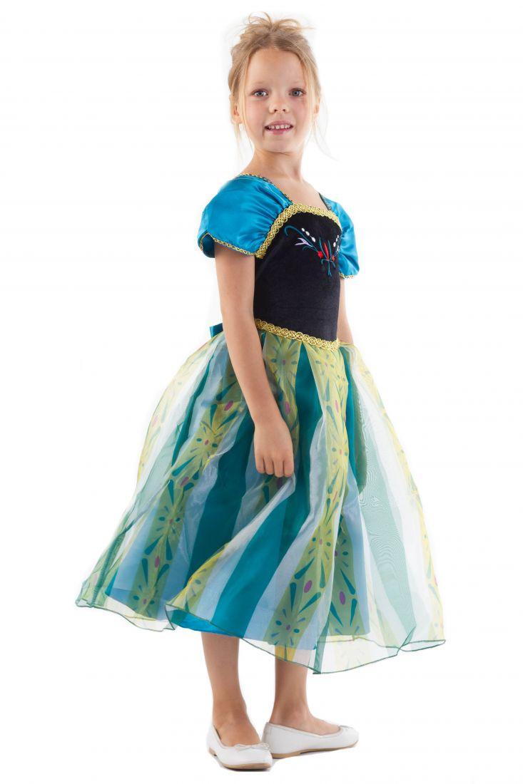 Платье принцессы Анны для девочки