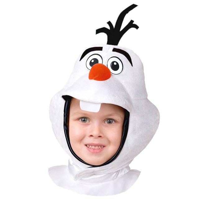Детская шапка-маска Олафа