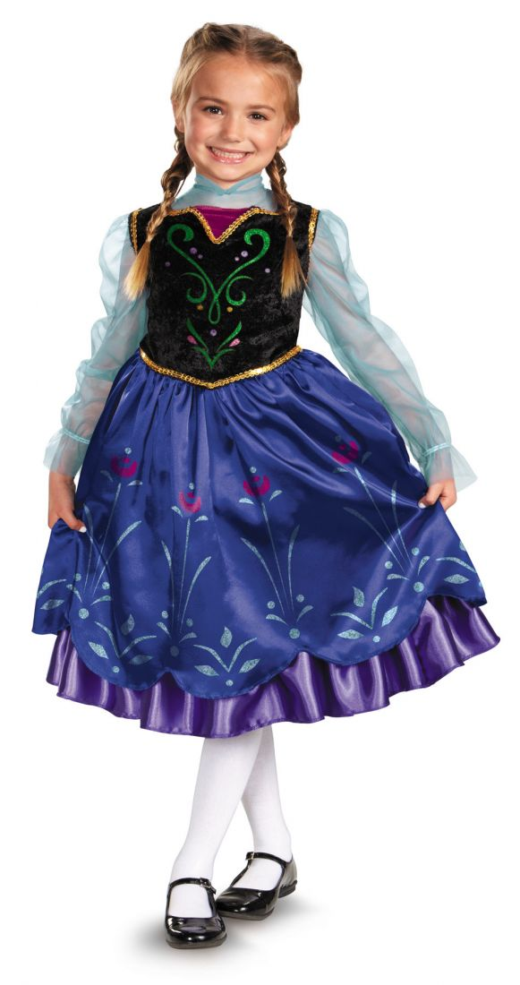 Детский костюм Принцессы Анны Холодное сердце