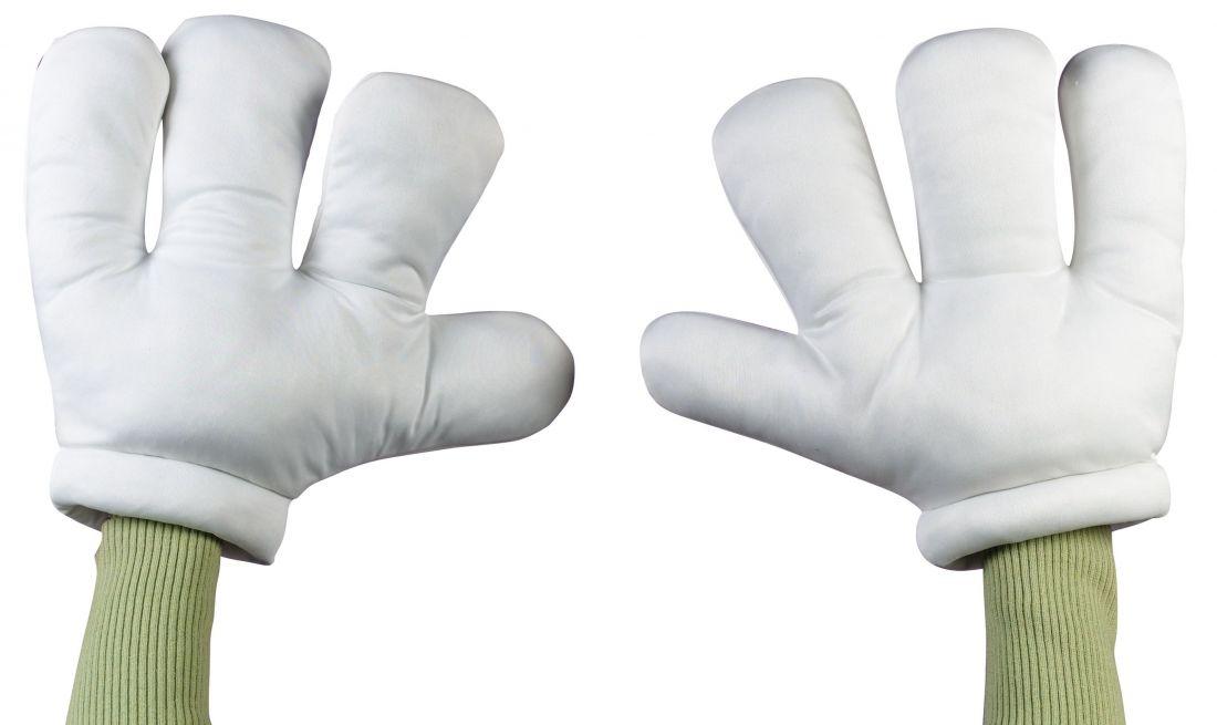 Мультяшные огромные руки