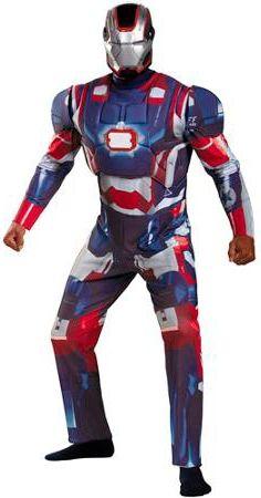 Детский костюм синего Железного человека