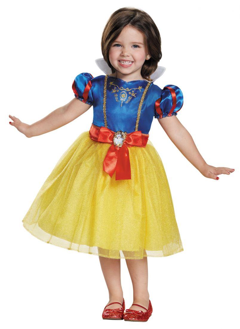 Детский костюм принцессы Белоснежки