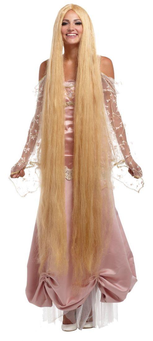 Длинный женский парик Рапунцель