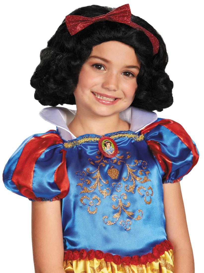 Детский парик Принцессы Белоснежки