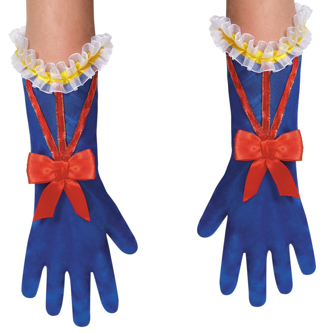 Детские перчатки Белоснежки