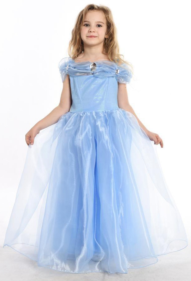 Детский костюм сказочной Золушки