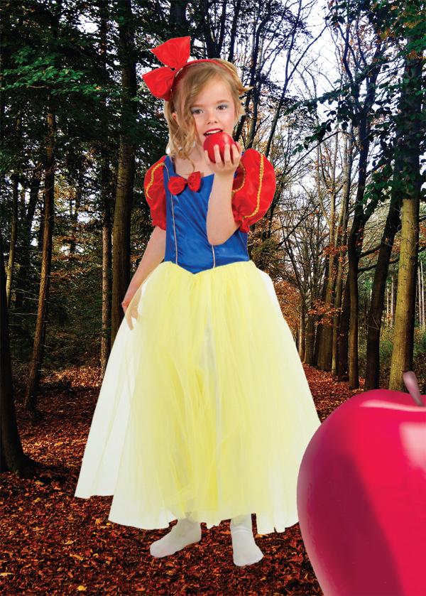 Костюм Маленькой принцессы Белоснежки