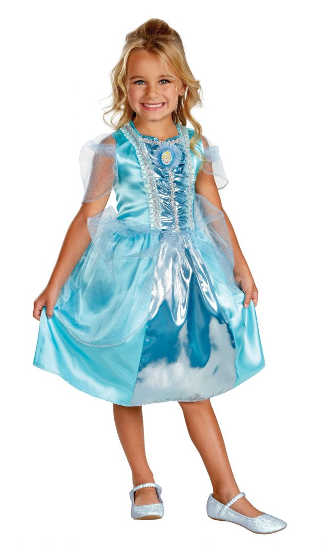 Детский костюм прекрасной Золушки