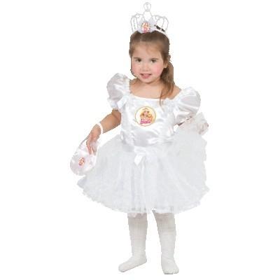Белое платье Барби